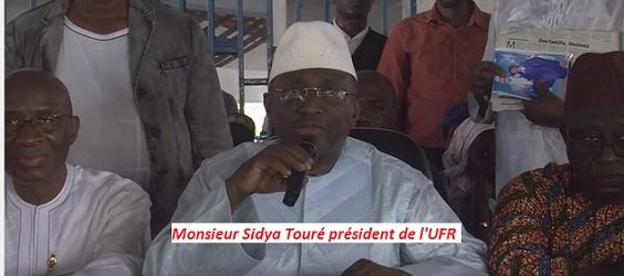 Sidya Touré prêt à aider Alpha Condé à déclencher une guerre contre les voleurs de la République( Par VisionGuinee.Info)