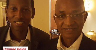 Le duo de faussaires: Cellou Dalein Diallo-Hamide Baldé (Syl Baron's)