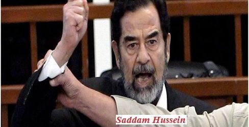 L'extraordinaire sang-froid de Saddam Hussein face à ses bourreaux, face à la mort.( Par René NABA)