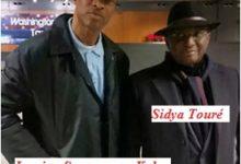 L'arrivée de Sidya Touré à l'aéroport de Washington DC le samedi 18 décembre 2016.