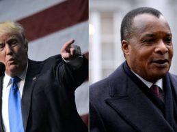 Donald Trump refuse de rencontrer le président dictateur du Congo Denis Sassou Nguesso,