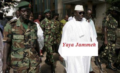 Gambie : le capitaine Salif Kor fuit la Gambie et  appelle ses frères d'armes a lâché Jammeh