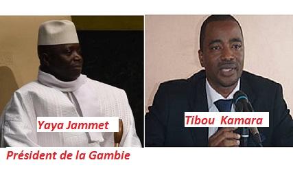 Gambie : Tibou Kamara serait en Gambie et à l'origine de ...