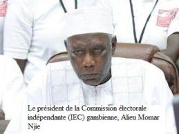 Gambie: le chef de la commission électorale s'est réfugié au Sénégal (famille)