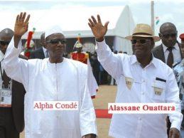 Pendant que le bilan d'Alpha Condé est fait de voyages inutiles, de corruptions et de sa volonté de violer la limitation constitutionnelle de son mandat, le bilan d'Alassane Ouattara se montre positivement éloquent