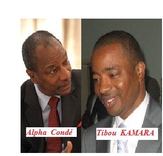 Alpha Condé et Tibou KAMARA 2