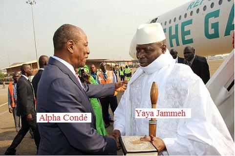 Alpha Condé et Yaya Jammet 2