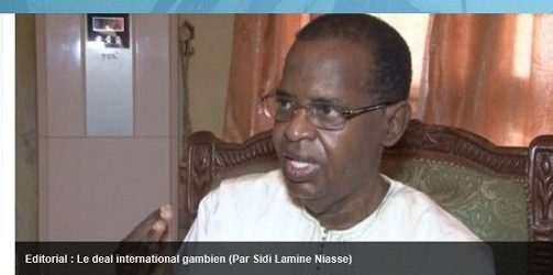 GAMBIE/ Le deal international gambien ( par Lamine NIASSE )