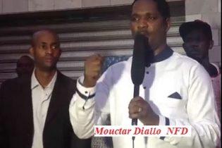 Mouctar Diallo : ''Nous allons combattre tous ceux qui ont fait de l'ethnostratégie leur arme pour mobiliser…''