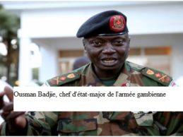 Le chef de l'armée gambienne assure que ses hommes ne se battront pas face à des troupes africaines