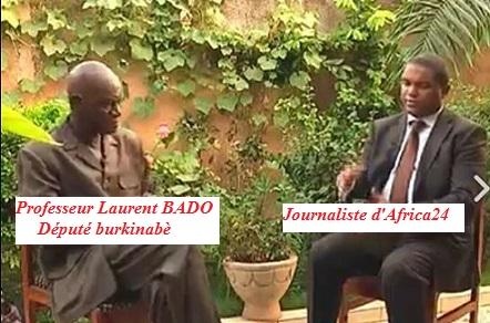Prof Laurant BADO Député Burkinabè