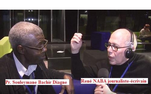 René NABA et Pr. Souleymane Bachir Diagne