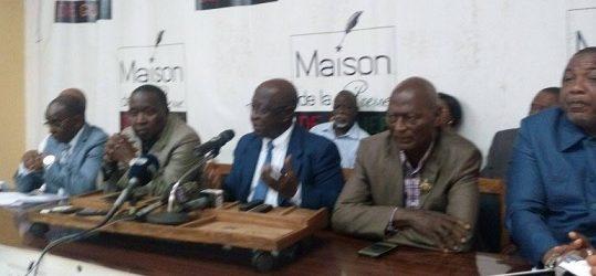 Conférence de presse/ Groupe Parlementaire Alliance Républicaine (GPAR): le point 2 des accords
