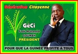 GUINEE/ Suite au retrait de la Génération Citoyenne « GéCi »majorité Présidentielle, son président  Fodé Mohamed Soumah s'exprime.