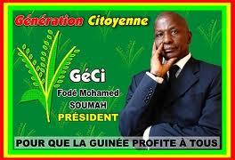 Les vœux  pour l'année 2017 du président de la Géci monsieur Fodé Mohamed Soumah
