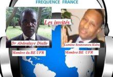 Position politique de l'UFR / Dr Abdoulaye Diallo et Lamine Sounounou Kaba membres du BE de l'UFR se prononcent sur la Radio basse côte internationale. Débat très intéressant !