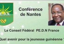 Conférence de Nantes de S.E Monsieur Lansana KOUYATE le 02 Avril 2017