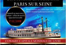 CROISIERE LITTERAIRE PARIS SUR SEINE, LA DIASPORA GUINEENNE ET AFRICAINE