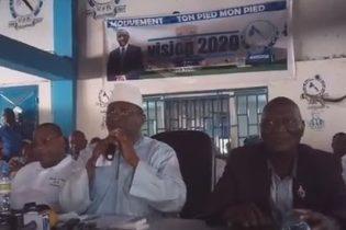 AG de l'UFR du 20 mai 2017 /  l'intervention du président Sidya Touré