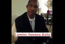 (VIDEO) Conseil de M. Lamine Sununu Kaba au président Alpha Condé au sujet de sa tentation pour le 3eme mandat.