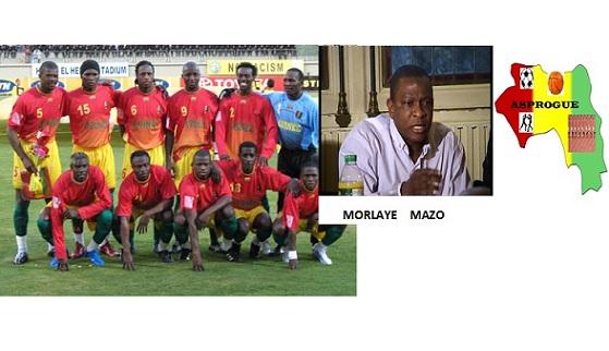 Grand gala footballistique du 10e anniversaire d'ASPROGUE opposant Black star aux anciens du syli national de Guinée à Paris 20e arrondissement le 1er juillet 2017.