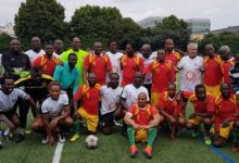(VIDEO) Match de gala entre les anciens du Syli national et le Black Star, organisé par l'ASPROGUE à Paris