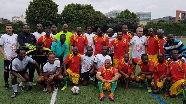 (VIDEO) Match de gala entre les anciens du Syli national et le Black Star, organisé par l'ASPROGUE à Paris