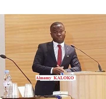 Discours de monsieur Almamy Kaloko lors du colloque du 27 juin 2017 au Sénat français sur l'apport de la diaspora pour l'émergence de la Guinée.