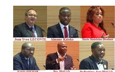 (VIDEO)  GRAD-GUINEE / Conférence-débat du 27 juin 2017 au Sénat français sur l'apport de la société civile pour l'émergence de la Guinée