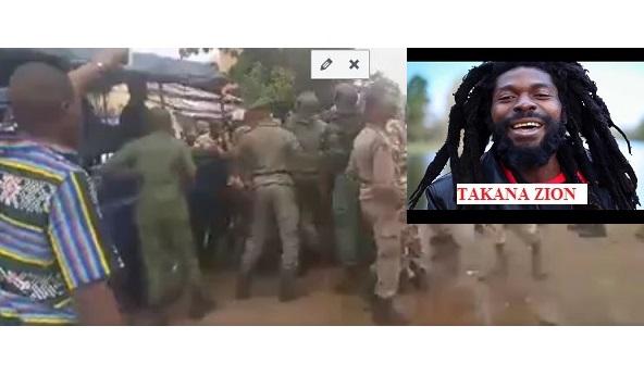 (VIDEO) Arrestation de l'artiste guinéen TAKANA ZION par Alpha Condé pour son opposition à son troisième mandat  interdit par la constitution
