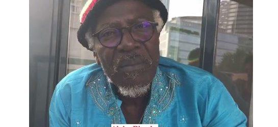 ALPHA  BLONDY appelle à la libération de Kémi SEBA et la libération de l'Afrique du Franc CEFA.