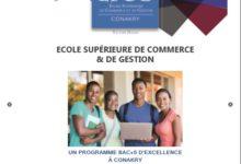 (SPOT VIDEO) Début des inscriptions à l'Ecole Supérieure de Commerce et de Gestion de Conakry( ESCG Conakry),la toute première école de commerce d'excellence de la Guinée.