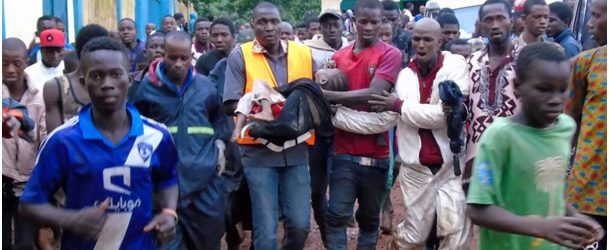 Guinée: des morts dans l'éboulement d'une décharge en banlieue de Conakry