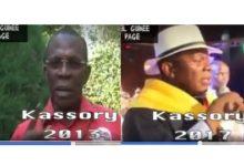 (VIDEO) Les propos de Kassory Fofana sur Alpha Condé et sur le RPG en 2013 et en 2017 (source:eveilguinee.com)
