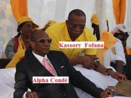 Une guinéenne ( Khadiatou Conté ) accuse Alpha Condé et Kassory Fofana d'avoir vendu Boké et ses mines aux chinois sans que personne ne bouge en Guinée. Elle prie Dieu qu'ils soient châtiés avec leurs progénitures. ( A écouter absolument ).