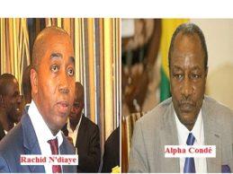Guinée : Le clan du troisième mandat et le ministre de la communication ( Alpha Condé / Rachid N'diaye  vers le divorce ? )