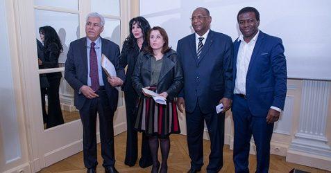 Colloque du Club Géopolitique et Institut Robert  Schuman du 26 septembre 2017 sur le rôle de l'Union Africaine dans résolution de la crise libyenne à l'initiative d'Ibrahim Sorel KEITA.