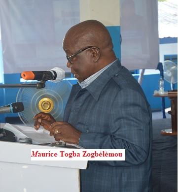 Maurice Togba Zogbélémou sur le thème :  » Le renouveau de l'Etat» à l'occasion des journées portes ouvertes de l'UFR