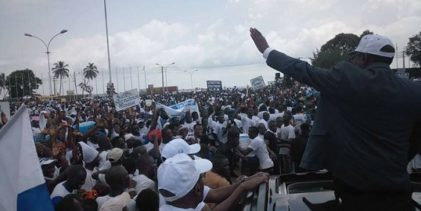 (VIDEO) Le triomphe de Sidya Touré au milieu d'une foule immense.