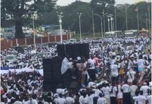 Une entrée triomphale de Sidya Touré à l'instant même, c'est-à-dire à 13h42 heure de Conakry.