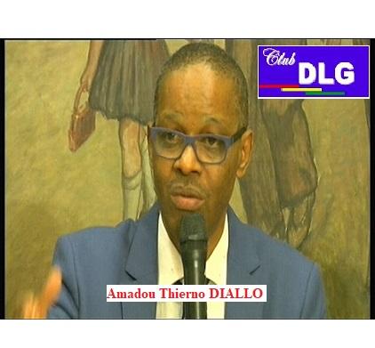 (VIDEO) M. Amadou Thierno DIALLO directeur de département à la Banque islamique de développement reçu par le Club DLG, s'exprime sur sa vision du développement en Afrique. Paris, le 6 janvier 2018