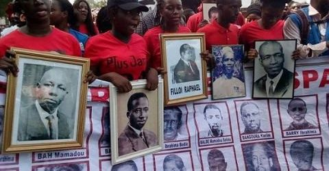 Guinée:  Camp Boiro/ Commémoration d'exécutions de masse sous le régime du président Sékou Touré
