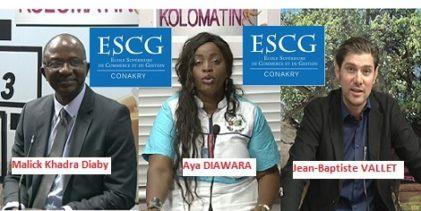 (VIDEO) Ecole Supérieure de Commerce et de Gestion de Conakry (ESCG-Conakry) / Le Recteur et le Directeur pédagogique à la RTG / Un projet pédagogique révolutionnaire.