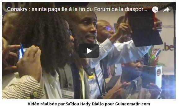 (VIDEO) CONAKRY / La démarche frauduleuse du gouvernement saborde l'installation du Haut Conseil des Guinéens de l'Etranger. Quelle honte !