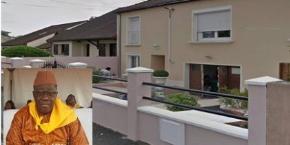 GUINEE / Détournement de biens publics:  L'une des trois maisons en France de Malick Sankhon, le directeur national de la sécurité sociale