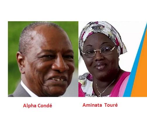 KALOUM / Aminata Touré  et  ses colistiers seraient  sous de graves menaces d'Alpha Condé par le biais de Malick Sankhon, Cheick Traoré… afin qu'ils renoncent à la Mairie de KALOUM !