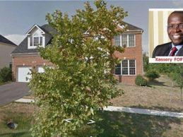 Kassory Fofana / L'une de ses propriétés dans la banlieue de Washington DC aux Etats-Unis  estimée à 800.000 dollars et sa taxe de propriété annuelle de 7 516,41 dollars ! ( Par le Collectif Contre l'Impunité en Guinée )