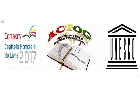 Manifestation culturelle  organisée le mercredi 21 mars 2018, de 17h à 21h par  L'ACTOG, partenaire de « Conakry Capitale Mondiale du Livre 2017 » (CCML), avec l'appui de l'Ambassade de Guinée en France…