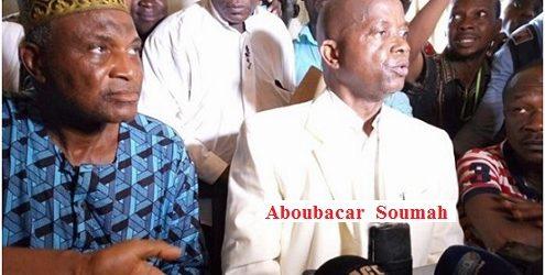 Le syndicaliste Aboubacar Soumah et sa délégation ont échappé hier samedi à une tentative d'assassinat ! (Source: www. kababachir.com)