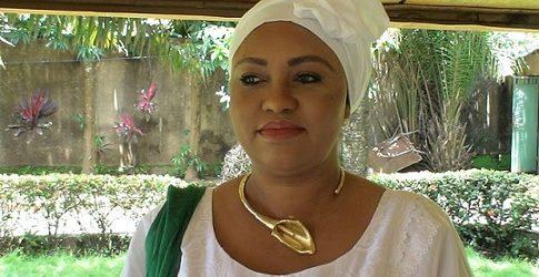 Le Club DLG  reçoit Madame Marie Madeleine Dioubaté  femme politique, candidate à élection présidentielle de 2015 en République de Guinée.
